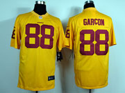 Mens Nfl Washington Redskins #88 Garcon Yellow Game Jersey