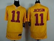 Mens Nfl Washington Redskins #11 Jackson Yellow Game Jersey