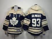 youth nhl toronto maple leafs #93 gilmour blue hoodie Jersey
