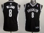 Youth Nba Brooklyn Nets #8 Williams Black Jersey
