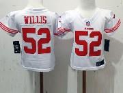 Kids Nfl San Francisco 49ers #52 Willis White Jersey