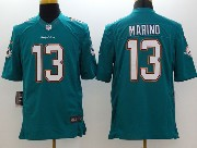 Mens Nfl Miami Dolphins #13 Marino Green (2013 New) Limited Jersey