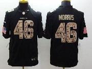 Mens Nfl Washington Redskins #46 Morris Salute To Service Black Limited Jersey