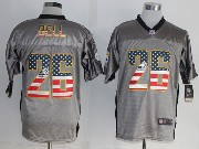 mens nfl Pittsburgh Steelers #26 Le'veon Bell 2014 usa flag fashion gray shadow elite jerseys