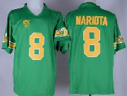Mens Ncaa Nfl Oregon Ducks #8 Mariota Green (gold Number) 1994 Throwbacks Jersey
