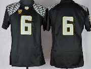 Youth Ncaa Nfl Oregon Ducks #6 Nelson Black Limited Jersey Gz