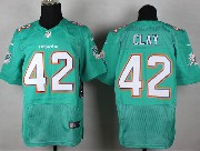 Mens Nfl Miami Dolphins #42 Clay Green (2013 New) Elite Jersey