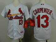 Youth Mlb St.louis Cardinals #13 Carpenter White Jersey
