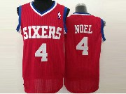 Mens Nba Phoenix Suns #4 Noel Red (white Number) Jersey