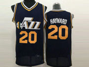 Mens Nba Utah Jazz #20 Hayward Dark Blue Jersey