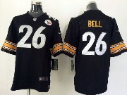 youth nfl Pittsburgh Steelers #26 Le'veon Bell black game jersey