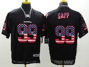 Mens Nfl Tampa Bay Buccaneers #99 Sapp Black (2014 Usa Flag Fashion) Elite Jersey