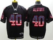 Mens Nfl Tampa Bay Buccaneers #40 Alstott Black (2014 Usa Flag Fashion) Elite Jersey