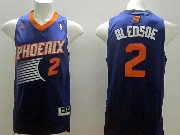 Mens Nba Phoenix Suns #2 Bledsoe Purple (2014 New Orange Number) Jersey