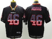 Mens Nfl Washington Redskins #46 Morris Black (2014 Usa Flag Fashion) Elite Jersey