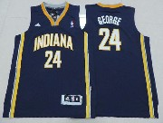 Youth Nba Indiana Pacers #24 George Blue Jersey
