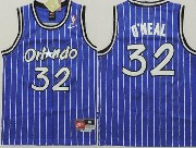 Youth Nba Orlando Magic #32 Oneal Blue Stripe Jersey
