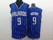 Mens Nba Orlando Magic #9 Vucevic Blue Stripe Jersey