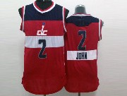 Mens Nba Washington Wizards #2 John Wall Red (2014 New Christmas) White Jersey