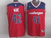 Mens Nba Washington Wizards #42 Nene Red 2014-15 New Swingman Alternate Jersey