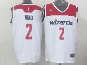 Mens Nba Washington Wizards #2 John Wall White 2014-15 New Swingman Jersey