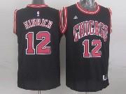 Mens Nba Chicago Bulls #12 Hinrich (chicago) Black Jersey