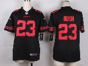 Youth Nfl San Francisco 49ers #23 Bush Game Jersey