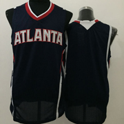 Mens Nba Atlanta Hawks Blank Black Jersey