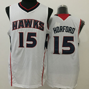 Mens Nba Atlanta Hawks #15 Horford White Jersey