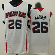 Mens Nba Atlanta Hawks #26 Korver White Jersey