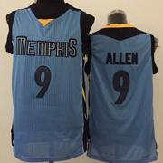 Mens Nba Memphis Grizzlies #9 Allen Blue Jersey(m)