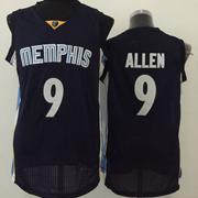 Mens Nba Memphis Grizzlies #9 Allen Black Jersey(m)