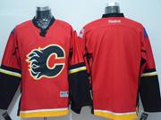 Mens Reebok Nhl Calgary Flames Blank Red Jersey