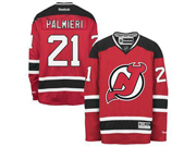 Mens reebok nhl new jersey devils #21 palmieri red Jersey