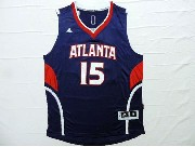 Mens Nba Atlanta Hawks #15 Horford Blue Jersey
