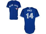 Youth Mlb Toronto Blue Jays #14 Price Blue (2012) Jersey