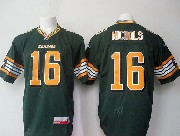 Mens Cfl Edmonton Eskimos #16 Nichols Green Jersey