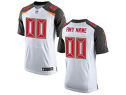 Nfl Tampa Bay Buccaneers (custom Made) White Elite Jersey