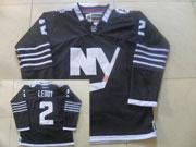 Mens reebok nhl new york islanders #2 leddy black Jersey