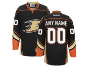Nhl Anaheim Mighty Ducks (custom Made) Black (2014 New) Jersey