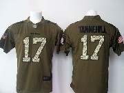 Mens Nfl Miami Dolphins #17 Tannehill Green Salute To Service Limited Jersey