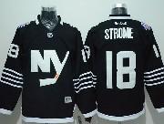 Mens Reebok Nhl New York Islanders #18 Strome Black Jersey