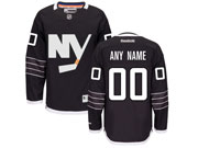 Nhl New York Islanders (custom Made) Black Jersey
