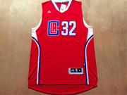 Mens Nba Los Angeles Clippers #32 Griffin Red 2016 (white Number) Jersey