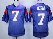 Mens Nfl Movie Mountain State #7 Moran Purple Jersey