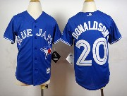 Youth Mlb Toronto Blue Jays #20 Donaldson Blue (2012) Jersey