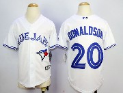 Youth Mlb Toronto Blue Jays #20 Donaldson White (2012) Jersey