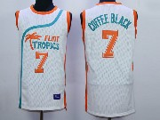 Mens Nba Movie Flint Tropics Semi Pro #7 Coffee Black White Jersey