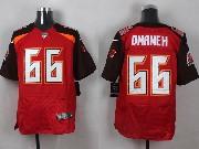 Mens Nfl Tampa Bay Buccaneers #66 Omameh Red (2014 New) Elite Jersey