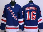 youth reebok nhl new york rangers #16 brassard dark blue Jersey